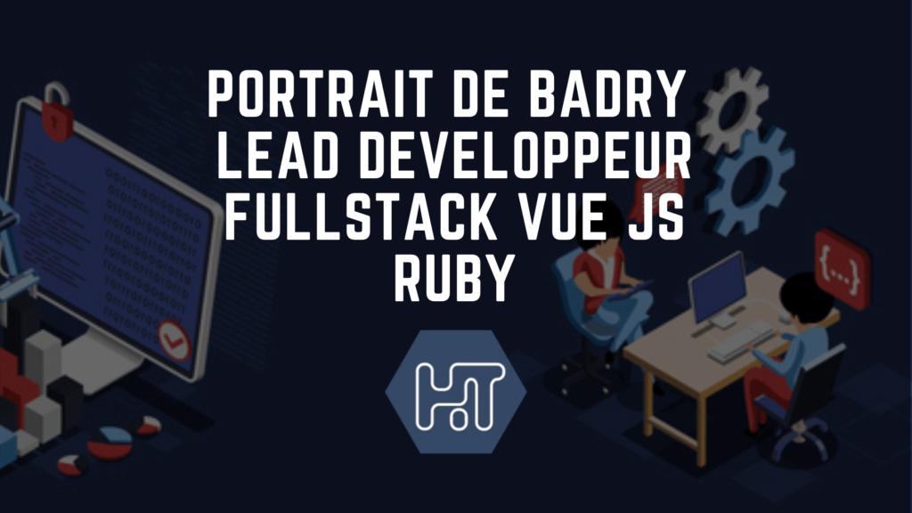 lead developpeur fullstack vue js ruby