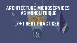 architecture microservices vs monolithique
